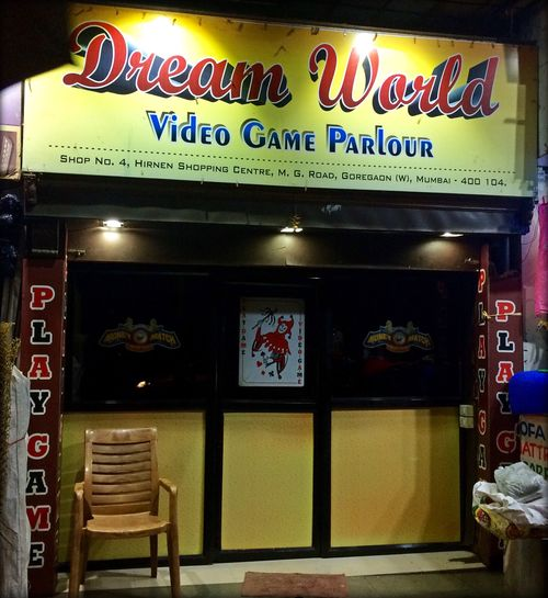 Video Game Parlour Mumbai India Southasia VideoGameParlour Maharashtra First Eyeem Photo VideoGameParlour Dreamworld Colours Colorful Gaming GamersAssembly Spaces Urbanlife Urbanphotography Urbanlifestyle Streetphotography Loitering Nightshot Nightlifephotography Nightlights Nightlife Yellow Lights And Shadows Lights