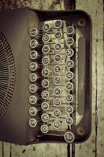 Typewriter Antique Steampunk