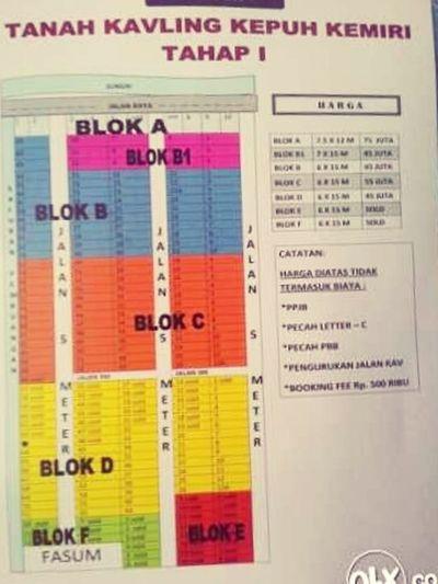Dijual tanah kavling 50 juta lt 90m mnat hubungi 082337111874 Hi!