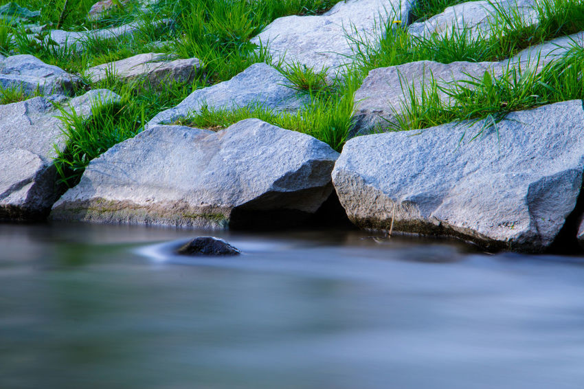 Beauty In Nature Day Grass Landscape Nature Nature Nd ND Filter No People Outdoors River S Scenics Stein Steine Tonight Water