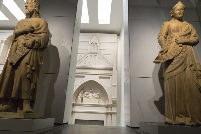 Opera Museum Florence Florence Cathedral Florence Churces Museum Of Art Human Representation Sculpture Statue Representation Art And Craft Male Likeness Architecture Female Likeness Creativity No People Indoors  Spirituality Religion Belief Craft Built Structure Place Of Worship Building