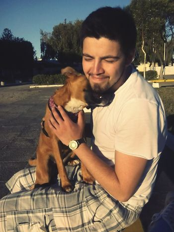 Mis amores ❤☺ Enjoying Life Hello World Doglover Taking Photos Best Boyfriend Ever