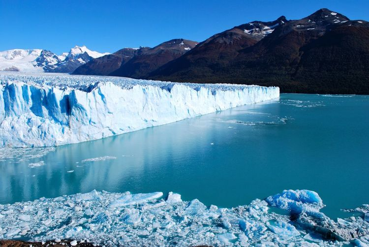 Landscapes With WhiteWall Perito Moreno. Patagonia. Argentina.