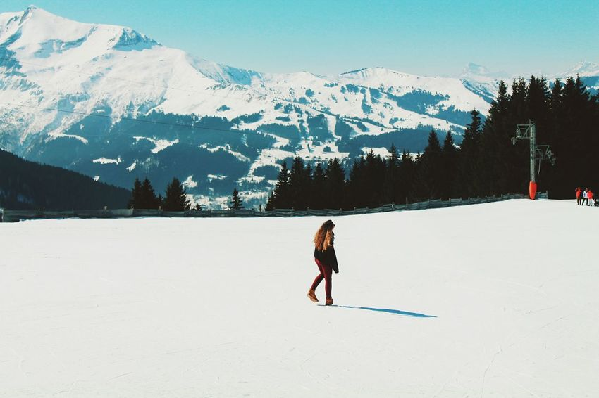 Paradise Hello World Hanging Out Taking Photos Montblanc Switzerland Snow ❄