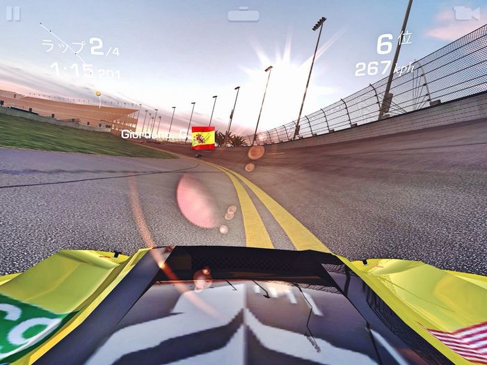 OMG 😬Why Did I Take Such One😔 なんでこーなるの‥‥な夜 Break Time Relaxingtime Real Racing 3 Corvette C.7R championship/ Daytona International Speedway evening run iPad Screenshot de Good night, I'll be back sooooon