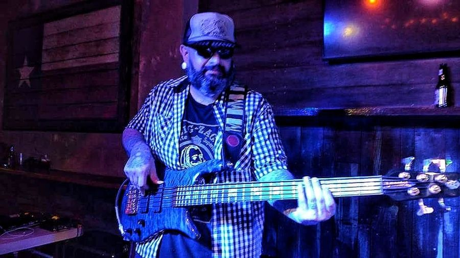Beardlife Tattoos And Piercings Beard Tranquility Myjobdoesntsuck Bass Player That's Me Musical Instrument Hand Tattoos South Texas Texas Made