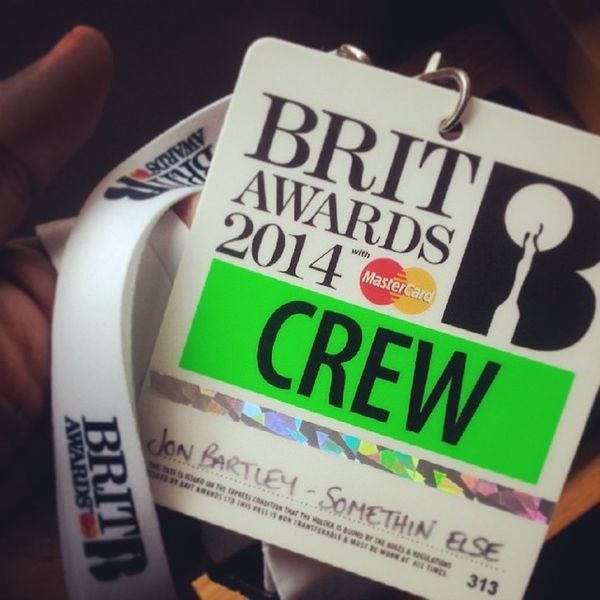 Today's the day -___- I've done big events before, but tonight feels different! BRITs2014 let's be having ya! ^___^ GoJohnnyGo