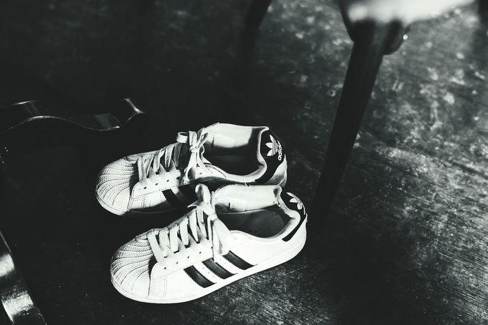 Shoes Adidas Adidas Originals Adidas Superstar Black & White Item EyeEm Best Shots B & W