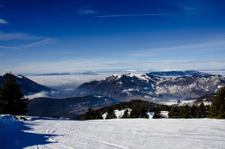 France Light Alps Beauty In Nature Cold Temperature Day Mountain Nature No People Outdoors Peasceful Scenics Serene Serene Outdoors Sky Sky Lovers Snow Winter
