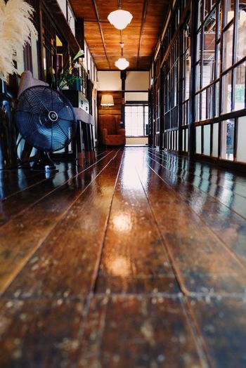 Qingtian76 @ Taipei Indoors  Hardwood Floor Corridor No People Architecture Taipei