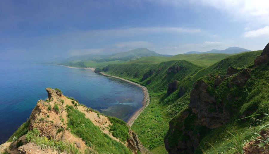 Mountains Hiking Outdoors Sea Sea And Sky Walking Around Taking Pictures Nature IPhoneography Nature_collection Walk Taking Photos Walking Beautiful Day Wildlife & Nature Landscape Landscape_Collection Sky Seaside Enjoying Life Sakhalin Russia
