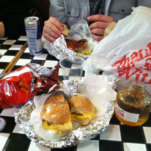 Best breakfast Latenightadventures Thismorning Yummy @stifler0391