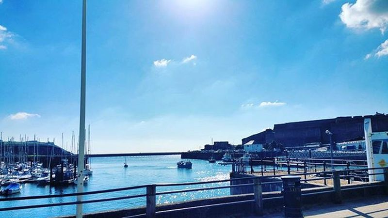 What a beautiful day Sun Seaview Plymouthoceancity Plymouth Suttonharbour Plymouthbarbican Sunnydays