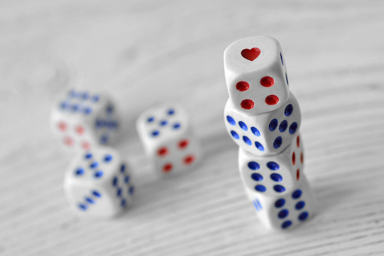 Dices with a