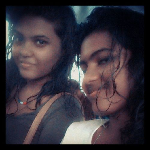 Cause she is my most prettiest sister..love yu babe.. <3 Anko Me Sistars Us Ferry Rainy Day After Vaareyaa Themifa Hehe Majaa Fun After Work ILY Gorgous Sistar Pretty Us