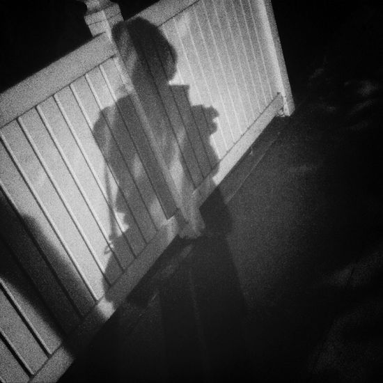 Shadow of a girl Night Walk Street Photography Lifeoffanni Photography