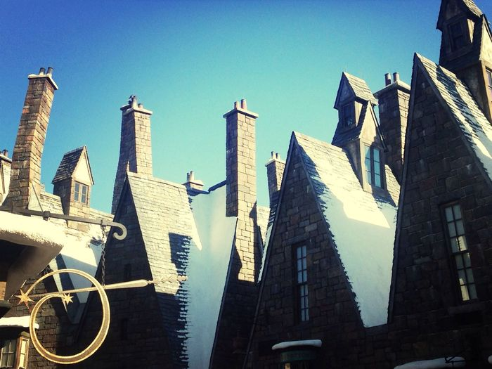 I went to Island Of Adventure .I was in Hogwarts.Love Harry Potter ♡
