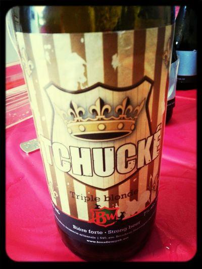 P'tite triple blonde bière 2 de notre dégustation! Goût assez prononcé! DégustationCéréRobertson2013