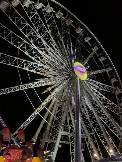 Night Arts Culture And Entertainment Ferris Wheel Amusement Park Illuminated No People Amusement Park Ride Low Angle View Sky Outdoors City OC Fair OC Fair Ground Ocfair2017 EyeEm Gallery EyeEm