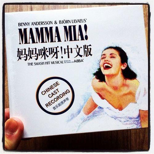 😘Mammamia Musical ABBA Chinesecastrecording Chinesecast Chinese Soundtrack Album Music