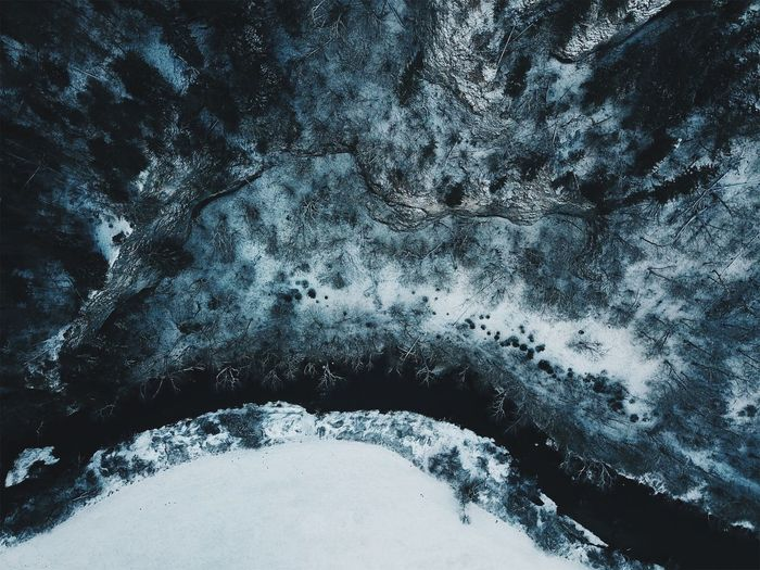 Drone  Winter Backgrounds Beauty In Nature Close-up Cold Temperature Day Donautal Dronephotography Droneshot Dronie Environment Frozen Full Frame Germany Nature No People Non-urban Scene Outdoors River Scenics - Nature Snow Textured  Tranquil Scene Tranquility Water Winter