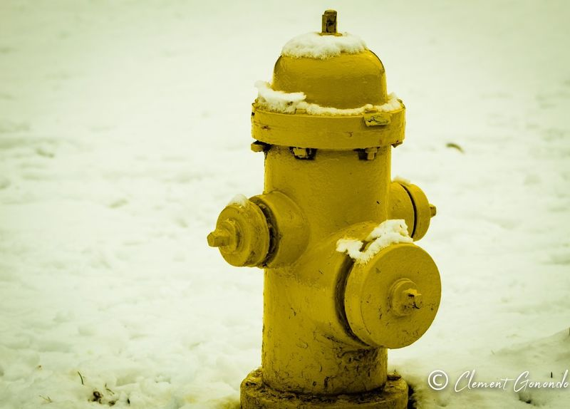 Rescue Intrigue Gloom Moody Vignette Snow Water Man Made Object Cold Temperature Snow Winter Yellow Outdoors Day No People Fire Hydrant Close-up Nature