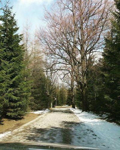 Traveling Travel Polskiegóry Karpacz śnieg Piekniejest śniegwkwietniu