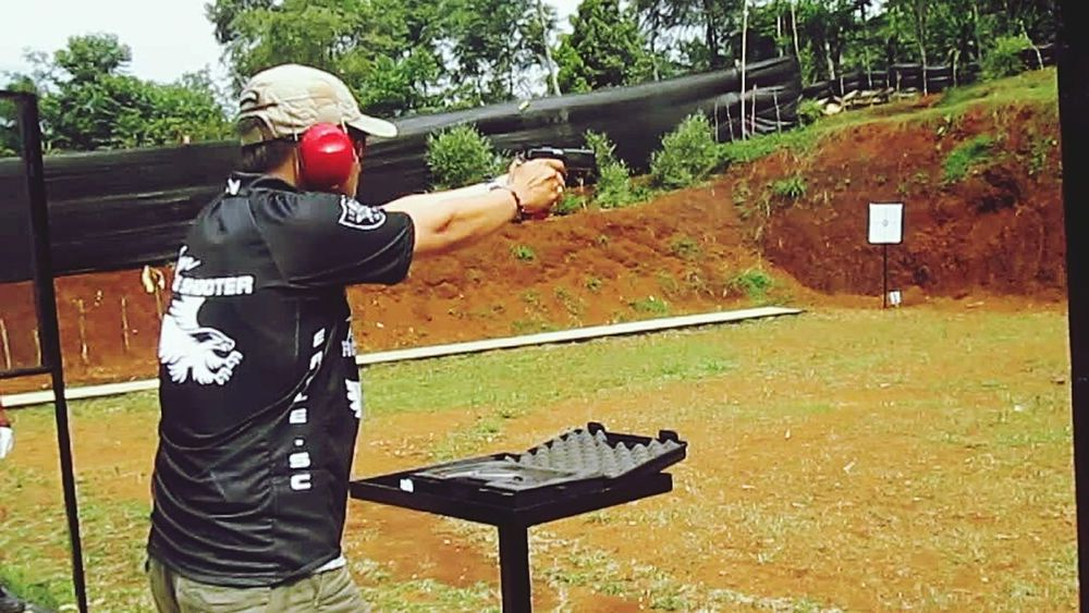 Everybody need Hobby , Eagle Shooting Club Indonesia , Shooting , using STI Firearms and Ammo from PINDAD