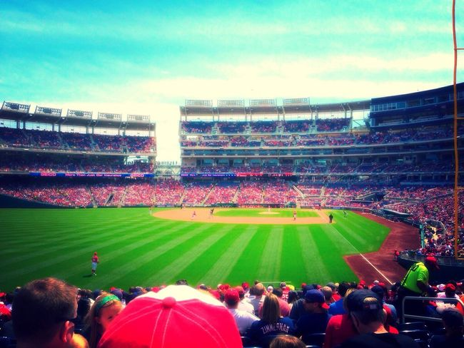 At nationals game so much fun