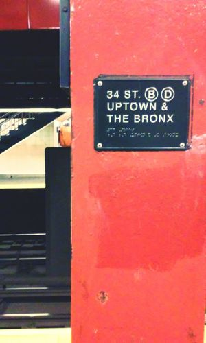 Notes From The Underground Herald Square Urban Geometry Subway