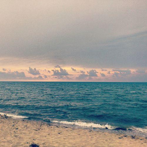 Seaside Eye4photography  Clouds Sunset #sun #clouds #skylovers #sky #nature #beautifulinnature #naturalbeauty Photography Landscape