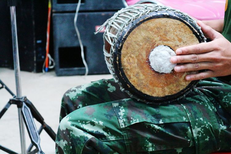 drum Colorful Music Backgrounds Thailand Drum Headwear Close-up Outdoor Play Equipment Musical Equipment Musical Instrument Keyboard Instrument Percussion Instrument Slide Musical Instrument String