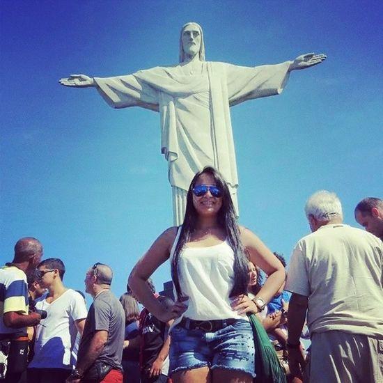 Pra te adorar foi que eu nasci !!!!Corcovado Riodejaneiro Cristoredentor Inesquecivel