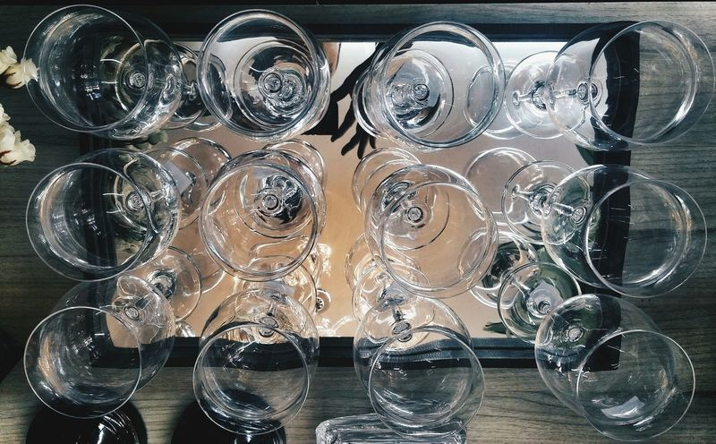 Fragile Precision Mirror Glasses Infinity