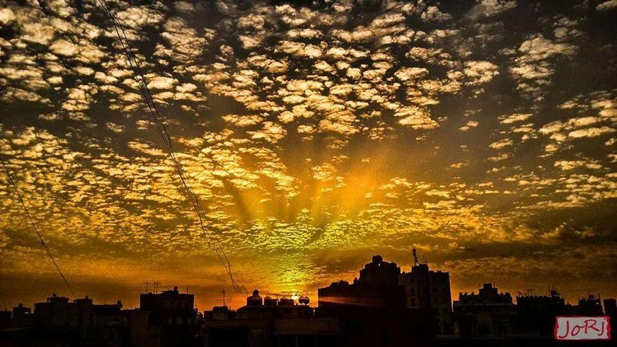 Sunset Sunset And Clouds  Beirut Beautiful Sunset