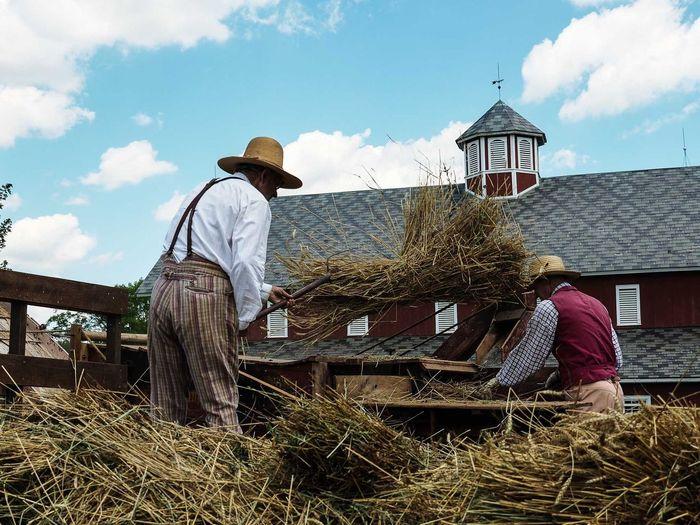 Livinghistory 1880 Farm Ohio, USA Lithopolis Metroparks Olympus Cbus Columbus Columbus, Ohio Omdem5ii Omd Em5 Mark Ii Hat Straw Hat Outdoors Slaterun Panasonic