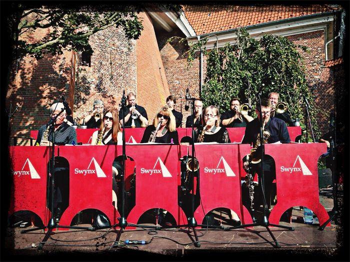 Ein cooles Konzert mit der BigBand Swynx in Wesselburen...