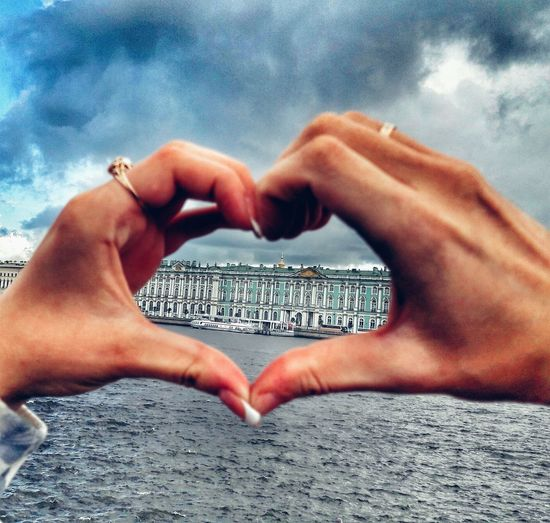 st.petersburg People Sky Water Outdoors Close-up Cloud - Sky Human Hand Human Body Part Day One Person People First Eyeem Photo