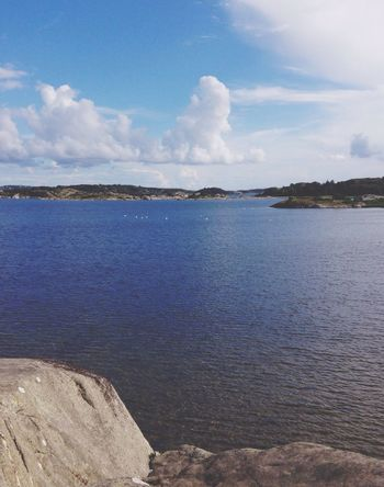 Blue Sky Blue Sea lovely colors memories of happy days in Sveden EyeEm Nature Lover Taking Photos