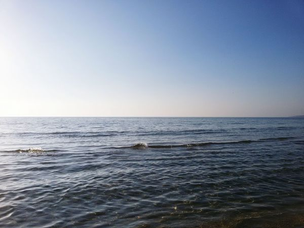 Sea Horizon Over Water Tranquility Scenics Beauty In Nature Beach Nature Sky Water Tranquil Scene Outdoors Day No People