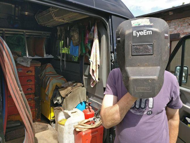 Technology Day Adult Outdoors One Person Work Welder EyeEm Sticker Tools Skórcz, Poland Entrepreneurship