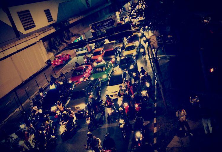 ชีวิตเดิมๆของชาวคน ก.ท.ม. Streetphoto City Of Life Traffic Street Life