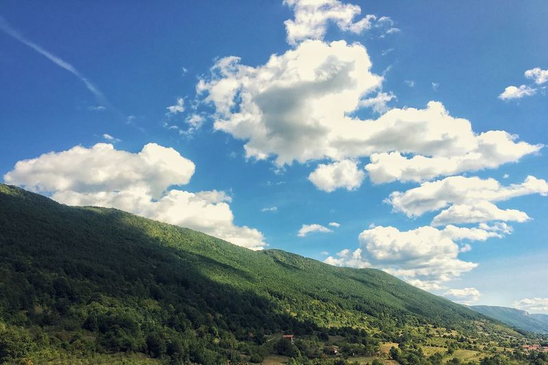 Balkan Nature Sky Beauty In Nature No People Landscape Day Scenics Mountain Blue Sky Outdoors