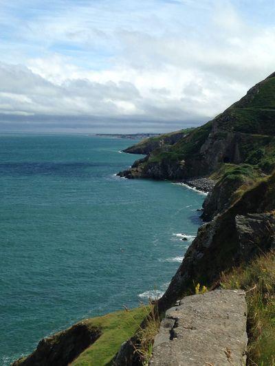 Coastline Hiking Beauty In Nature Bray, Ireland Cloud - Sky Day Hike Hikingadventures Horizon Over Water Mountain Nature No People Outdoors Scenics Sea Sky Tranquil Scene Water The Great Outdoors - 2018 EyeEm Awards
