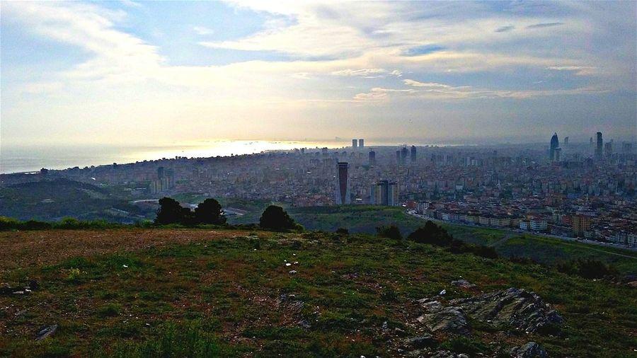 The Roof Of The City Istanbul Kayisdagi Asia And Europe ASIA Europe Istanbul Turkey Turkey The Great Outdoors - 2015 EyeEm Awards