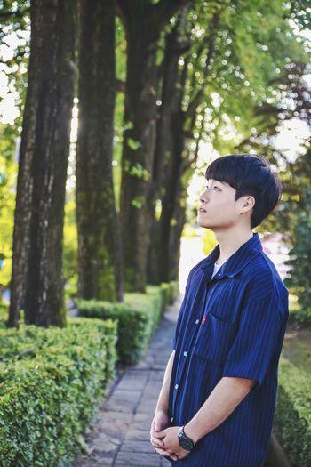박준우 Koreauniversity Korea Portrait Of A Friend Autumn Colors Handsome Boy