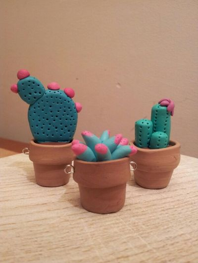 Polymer Clay Plants Succulents Fimo Sculpey