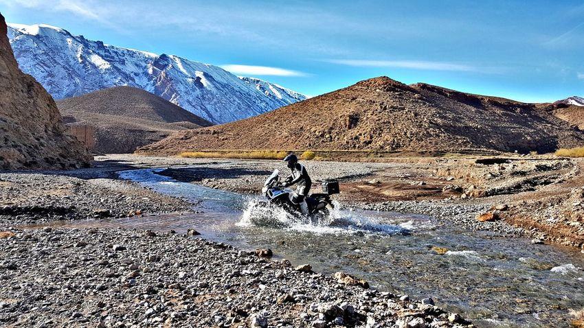 EyeEm Selects Mountain Mountain Range Outdoors Snow Landscape Scenics Biker Road Trip Adventure Yamaha Supertenere Xt1200ze Motorcycle Photography Motorcycle Travel Destinations