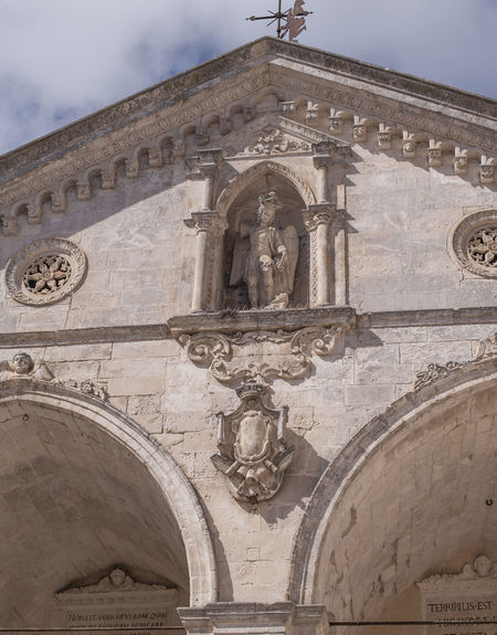Arch Architecture Bas Relief Building Exterior Built Structure Close-up Day Eye4photography  EyeEm Gallery History Low Angle View No People Ornate Outdoors Place Of Worship Religion San Michele Arcangelo Sky Travel Destinations