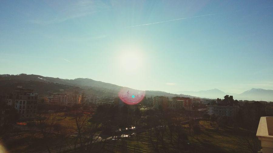Montagna Dei Fiori Taking Photos Sun